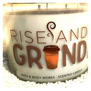 Bath & Body Works Accents - Bath & Body Works Rise and Grind Candle